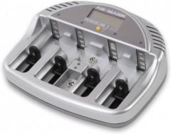 Ansmann POWERline 5 LCD, Устройство зарядное с ЖК дисплеем для АА/ААА/C/D,крона Ni-Mh/Ni-Cd