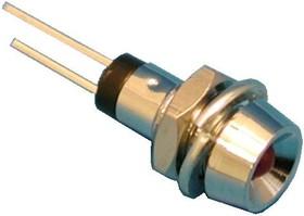 LA03W/I, Светодиод в корпусе d=8мм красный 7,0mcd | купить в розницу и оптом