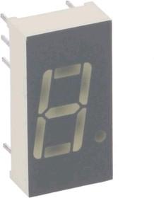 SA04-11SRWA, Индикатор 10.16мм, 7х1 красный ОА, 18мКд