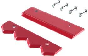 Пластина режущая (нож) Hammer Flex 210-026 к шнеку 210-031 по грунту 12'' (300мм) HG, нерж. сталь