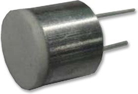 MCUSD11A400B11RS, Ультразвуковой датчик, приемопередатчик, 11мм диаметр, 400кГц, алюминий, черный, -20°C до 80°C