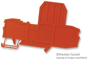 2006-992, Connector Accessories End Plate Orange Box