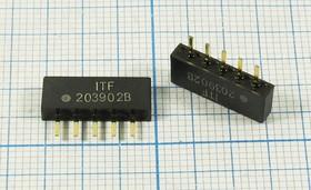 Фильтр на ПАВ 36МГц, ф 36000 \пол\ 8100/3\SIP5D\5P\ ITF203902B\DIG/CATV\
