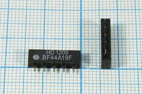 Фото 1/2 Фильтр на ПАВ 44.06МГц, полоса пропускания 4000кГц/3дБ, ф 44060 \пол\ 4000/3\SIP5D\5P\ HDBF44A19F\\SDE