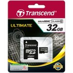 Карта памяти microSDHC TRANSCEND 32 ГБ, 20 МБ/с, Class 10 ...