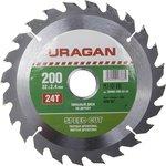 Круг пильный твердосплавный URAGAN 36800-200-32-24 быстрый ...