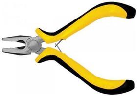 Плоскогубцы FIT 51632 мини черно-желтая мягкая ручка никел.антикор.покрытие