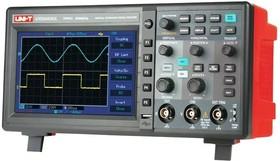 UTD2052CL, Осциллограф цифровой, 2 канала х 50МГц, USB, ЖК дисплей