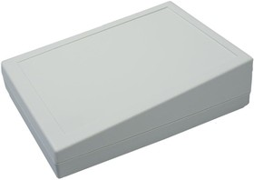 G1188G, Корпус для РЭА 134х189х32/54мм, пластик, серый