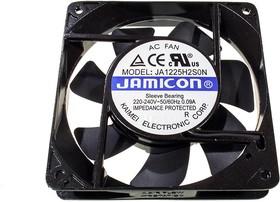 JA1225H2S(S22H), Вентилятор 220В, 120х120х25мм, подшипник скольжения 2200 об/мин (клемма)