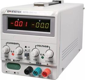 SPS-3610, Источник питания импульсный, 0-36V-10A,2хLED (Госреестр)