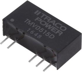 TMV 0515D, DC/DC преобразователь, 1Вт, вход 4.5-5.5В, выход 15,-15В/30мА