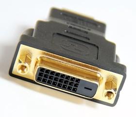Фото 1/2 PL1137, Переходник DVI-D (25F) - HDMI (19M)
