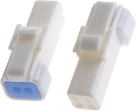 Фото 1/3 02R-JWPF-VSLE-S, Корпус разъема 2 pin без контактов