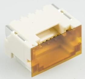 BM04B-ZESS-TBT (LF)(SN), Conn Shrouded Header HDR 4 POS 1.5mm Solder ST SMD T/R