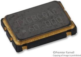 7W-60.000MBC-T, OSCILLATOR, 60MHZ, 7 X 5MM, CMOS