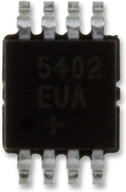 MAX5351BEUA+, ЦАП, низкой мощности, 13 бит, Последовательный, 3.15В до 3.6В, µMAX, 8 вывод(-ов)