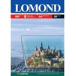 LOMOND 0708415 50 листов А4, прозрачная, Пленка для изготовления фотошаблонов для струйной печати