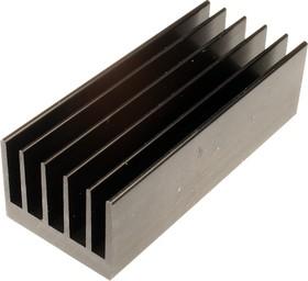 HS 184-100, радиатор алюминиевый 100x41x30