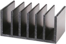 Фото 1/2 HS 185-30, Радиатор 30х51х25 мм, 6.2 дюйм*градус/Вт