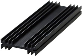 Фото 1/2 HS 207-100, Радиатор 100х35х10 мм, 13 дюйм*градус/Вт