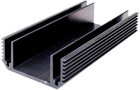 Фото 1/2 HS 302-100, Радиатор 100х50х21.5 мм, 7.1 дюйм*градус/Вт