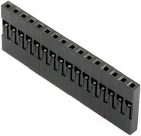 BLS-16 (DS1071 - 1x16), Гнездо на кабель 1х16 с контактами 2.54мм