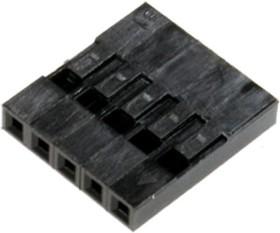 Фото 1/2 BLS-5 (DS1071-1x5), Гнездо на кабель 1х5 с контактами 2.54мм
