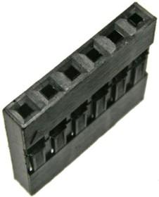 Фото 1/2 BLS-6 (DS1071-1x6), Гнездо на кабель 1х6 с контактами 2.54мм