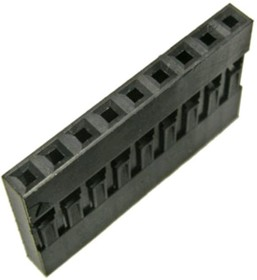 BLS-9 (DS-1071 - 1x9), Гнездо на кабель 1х9 с контактами 2.54мм