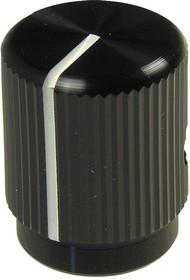 Фото 1/2 42006-2, D12.7мм, отв. 3,2мм, Ручка металл, черная
