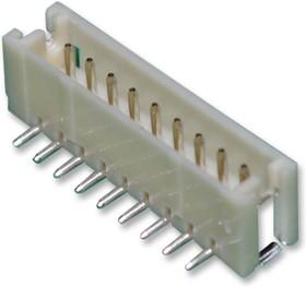 Фото 1/3 B9B-ZR-SM4-TF(LF)(SN), Разъем типа провод-плата, ввод сверху, 1.5 мм, 9 контакт(-ов), Штыревой Разъем, Серия ZH