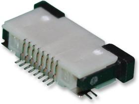 08FLZ-SM2-TB(LF)(SN)(P), FFC / FPC разъем, 0.5 мм, 8 контакт(-ов), Гнездо, Серия FLZ, Поверхностный Монтаж