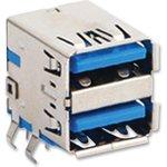 48406-0003, Составной USB разъем, USB Типа A, USB 3.0 ...