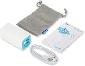 Фото 1/2 TL-PB10400, Портативное зарядное устройство Power bank на 10400 мАч, 2 порта USB 2.0 (5В/1A, 5В/2A, всего макс.: