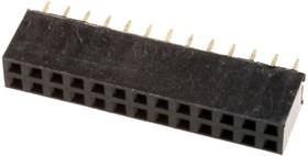 PBD-26 (DS-1023 - 2x13), Гнездо на плату 2.54мм 2х13 прямое