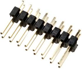 PLD-16 (DS1021-2x8), Вилка штыревая 2.54мм 2х8 прямая тип1