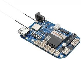 Фото 1/3 BeagleBone Blue, Одноплатный компьютер на основе SoC OSD3358 с ядром ARM Cortex-A8, Wi-Fi, Bluetooth