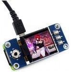 Фото 3/4 1.44inch LCD HAT, LCD дисплей 128×128px форм-фактора HAT для Raspberry Pi