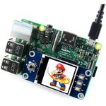 Фото 4/4 1.44inch LCD HAT, LCD дисплей 128×128px форм-фактора HAT для Raspberry Pi