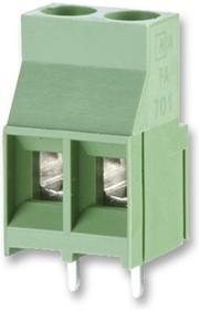 31701102, Клеммная колодка типа провод к плате, 6.35 мм, 2 вывод(-ов), 26 AWG, 10 AWG, 4 мм², Винт