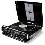 Проигрыватель винила ION Audio Mustang LP частично автоматический черный