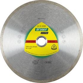 Круг алмазный KLINGSPOR DT 300 F EXTRA (325358) Ф125х1.6х22мм сплошной