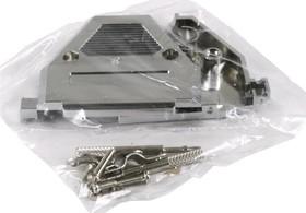 Фото 1/2 DNT-37C (DS1046-37-A-C-1-L), Корпус к 37pin, с удлиненными винтами, металлизированный