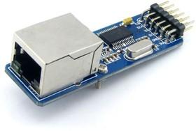 ENC28J60 Ethernet Board, Плата для подключения микроконтроллеров к Ethernet сети