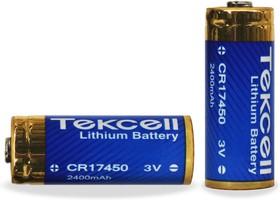 CR17450, Элемент питания литиевый 2400мАh, 3В (1 шт.)