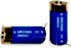 CR17450-2P, Элемент питания литиевый 2400мАh, 3В (1 шт.)