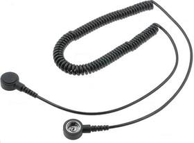 Wire Bottone 15-10, Провод соединительный заземляющий 1,5м с кнопкой 10м и 10мм