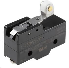 Z15GW22B7K, Микропереключатель 15А 250VAC