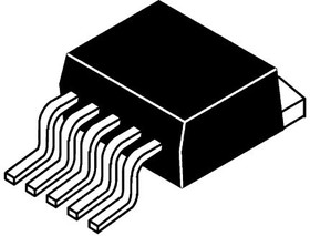 AP1501A-K5G-13, Conv DC-DC 4.5V to 40V Step Down Single-Out 1.23V to 37V 5A 6-Pin(5+Tab) TO-263 T/R